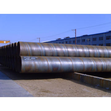 ASTM A53 SSAW Steel Pling Pipes/ Steel Piles
